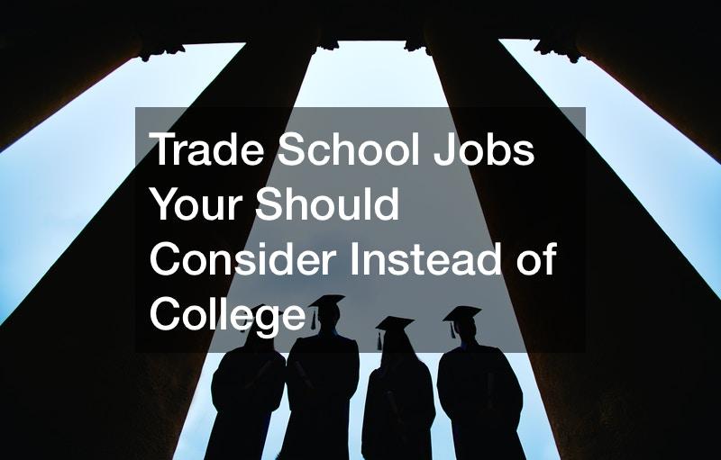 trade school career ideas